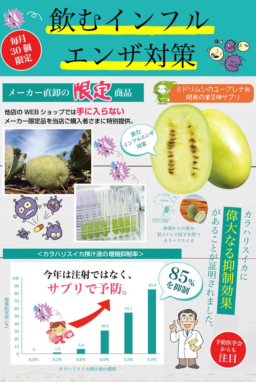 カラハリスイカの果実は抗酸化力がシトルリンの11倍